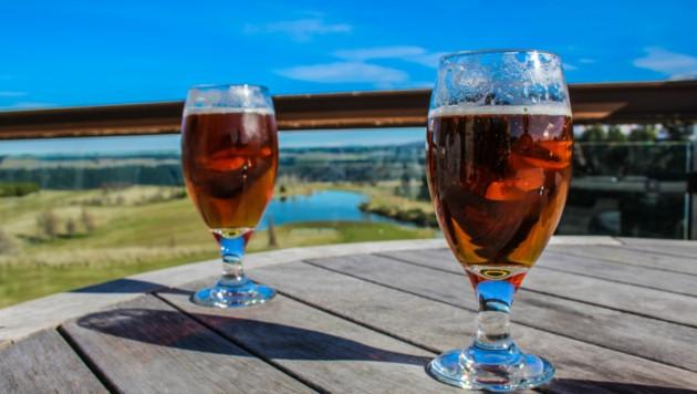 """Das """"Schamhaar""""-Bier hat in Neuseeland für viel Aufregung gesorgt, besonders bei den Ureinwohnern, den Maori. (Bild: stock.adobe.com, Krone KREATIV)"""