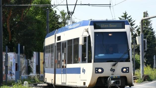Die Badner Bahn ist die erfolgreichste Regionallinie in ganz Österreich. (Bild: Huber Patrick)
