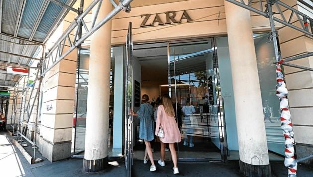 Zara-Filiale am Eisernen Tor in Graz (Bild: Christian Jauschowetz)