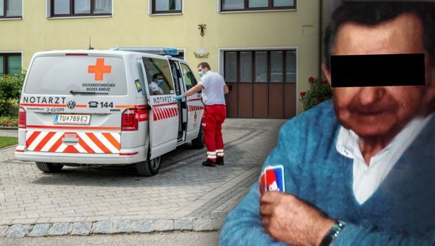 Über den Verdächtigen (88) wurde die U-Haft verhängt. (Bild: Imre Antal, Krone KREATIV)