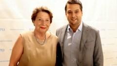 Ursula Stenzel und der Wiener FPÖ-Chef Dominik Nepp (Bild: Martin A. Jöchl)