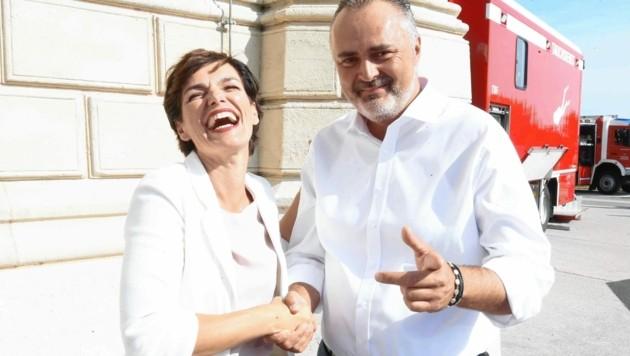 """Mit Rendi-Wagner: """"Ich glaube nicht, dass sie sich freut."""""""