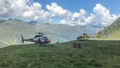 Die Einsatzkräfte konnten den Einheimischen nur noch tot bergen. (Bild: zeitungsfoto.at/Team)