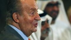 Altkönig Juan Carlos bei einem früheren Besuch in den Arabischen Emiraten (Bild: AFP)