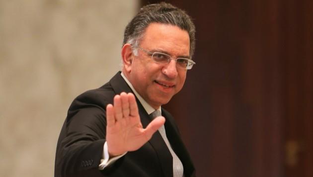 Umweltminister Damianos Kattar (Bild: AFP)