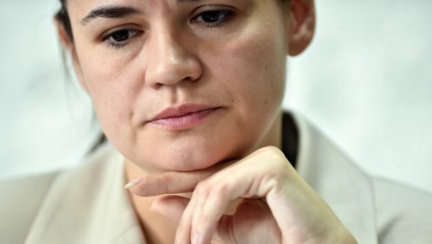 Swetlana Tichanowskaja (Bild: AFP/Sergei Gapon)