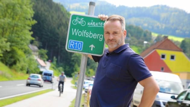 Bürgermeister Günther Vallant kämpft seit Jahren um Lückenschluss.