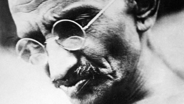 Mahatma Gandhi (Bild: AFP)