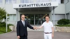 Leonhard Schneemann (links) wird als neuer Landesrat gehandelt. (Bild: FOTOKO / Andreas Koller)