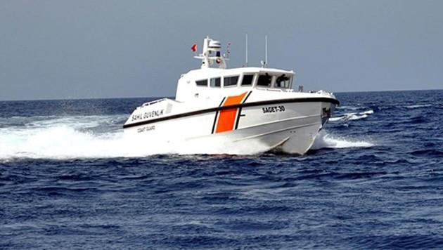 Ein Boot der türkischen Küstenwache (Symbolbild)