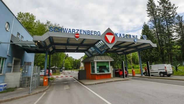 In der Schwarzenberg-Kaserne wird auf Hochtouren getestet.