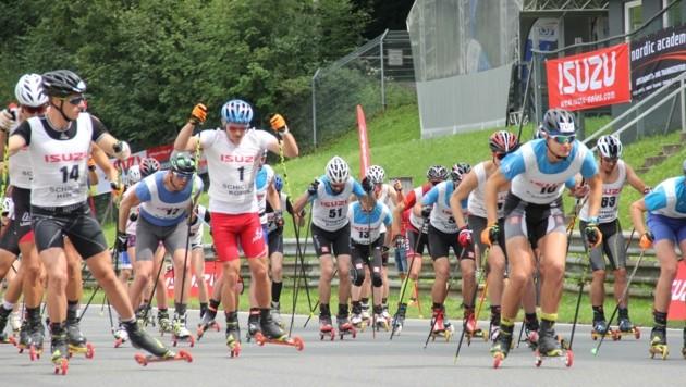 Am 30. August geht's am Salzburgring nicht mit vielen PS, dafür auf Skirollern heiß her. (Bild: Skate the RingSkate the Ring)