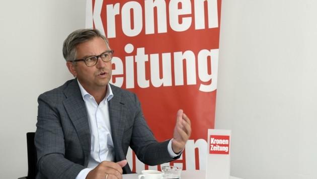 Die Flugbranche wird noch sehr lange brauchen, bis sie sich erholt, sagt Brunner im Interview. (Bild: Andreas Fischer)