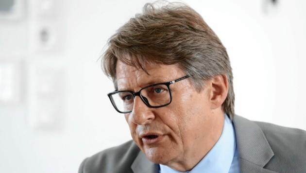 NHT-Geschäftsführer Hannes Gschwentner (Bild: Christof Birbaumer / Kronenzeitung)