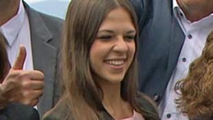 Christina Kohl bei der Präsentation der Kandidatenliste (Bild: Screenshot/ORF)