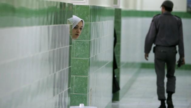 Aufnahme aus dem Inneren des Frauentraktes des Evin-Gefängnisses