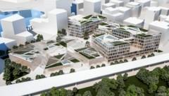 Acht Gotteshäuser unter einem Dach und eine Uni - so soll der Campus aussehen. (Bild: ZOOM visual project gmbh )