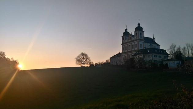 Unweit der Stadt Salzburg bietet sich in Maria Plain eine herrliche Sicht auf den Himmel. (Bild: Honorar)