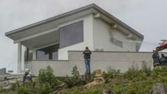 Die Täter stürmten die Villa am Heuberg. (Bild: Tschepp Markus)