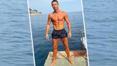 (Bild: Instagram.com/Cristiano Ronaldo)