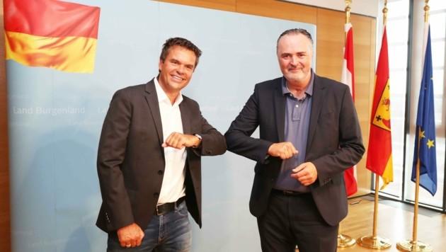 """""""Corona-Handschlag"""" zwischen Tunkel und Doskozil"""