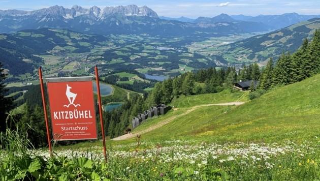 Positiv überrascht ist man in Kitzbühel. Eigentlich rechnete man für Juli mit einem Minus von 50 Prozent bei den Nächtigungen. (Bild: Andrea Thomas)