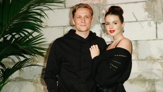 Matthias Schweighöfer mit Freundin Ruby O. Fee (Bild: Wenzel, Georg / Action Press / picturedesk.com)