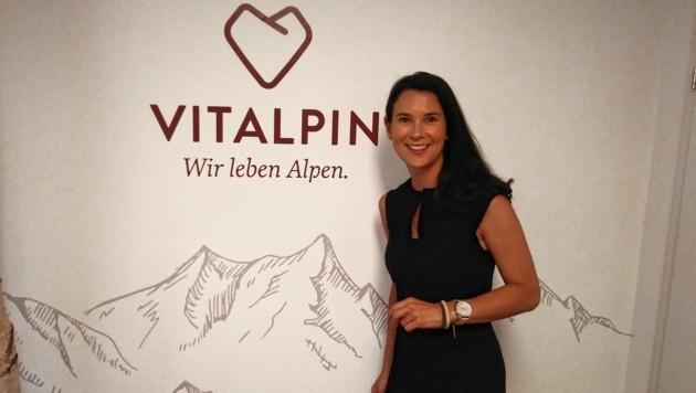 Theresa Haid ist Geschäftsführerin des vor einem Jahr gegründeten Vereins Vitalpin. (Bild: Manuel Schwaiger)