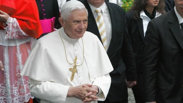 Papst Benedikt XVI. (Bild: Kronen Zeitung)