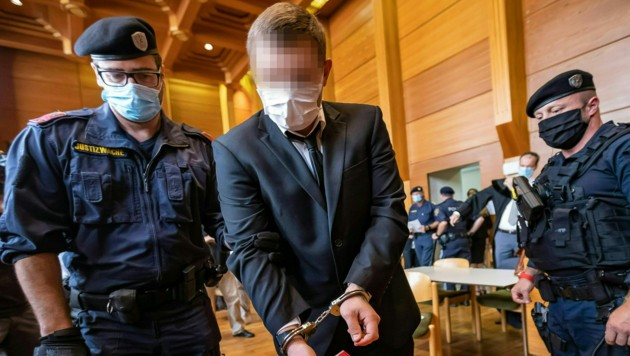 Andreas E. fasste eine lebenslange Haftstrafe aus. (Bild: APA/EXPA/JOHANN GRODER)