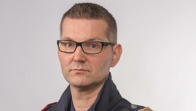 Hans Wolfgruber von der Polizei Salzburg
