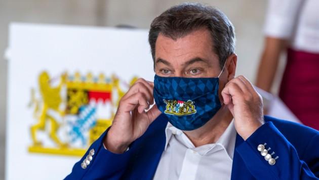 Ministerpräsident Markus Söder ist über die Testpannen sehr verärgert. (Bild: APA/AFP/POOL/Peter Kneffel)