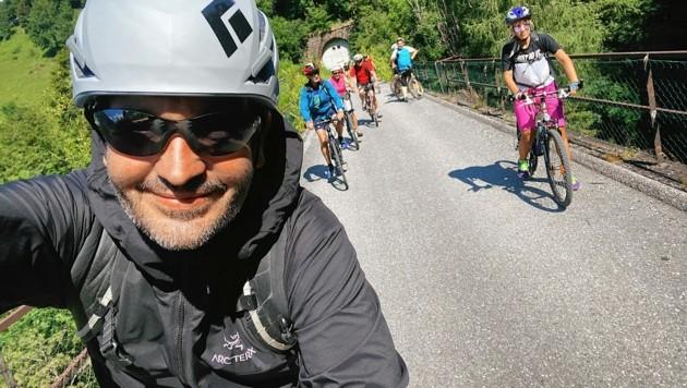 """Krone""-Reporter Hannes Wallner war mit den Pandas unterwegs. (Bild: Wallner Hannes)"
