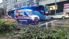 Heftige Unwetter in Graz (Bild: Jürgen Radspieler)