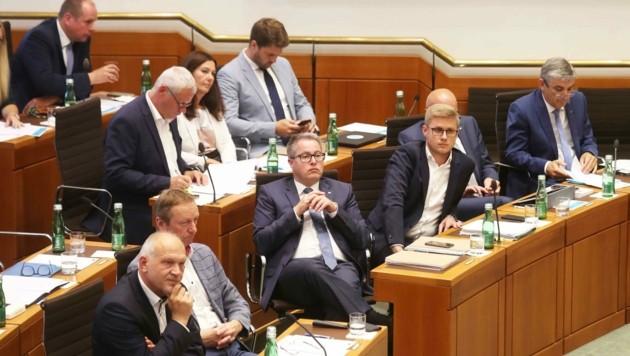 Zuhören, dann debattieren: Opposition in Warteposition (Bild: Judt Reinhard)