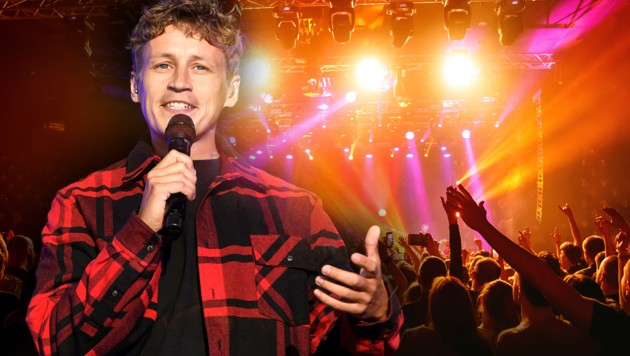 Im Rahmen einer Studie gibt Tim Bendzko am Samstag drei Konzerte in Leipzig. (Bild: stock.adobe.com, Viennareport, Krone KREATIV)