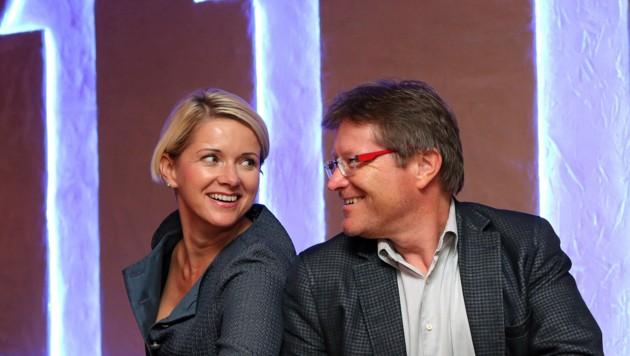 Werner Gröbl und seine Gattin Karin. (Bild: Werner Gröbl)