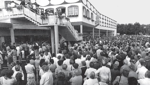 20.000 Menschen pilgerten anno 1989 nach Lieboch.