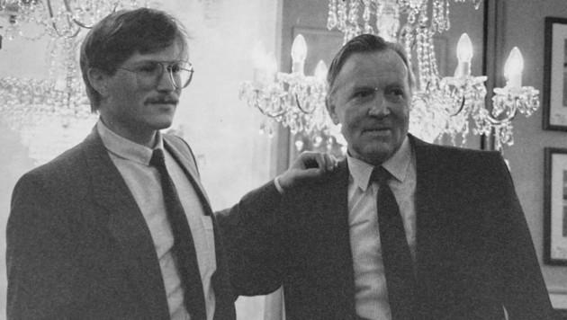 Werner Gröbl mit Werner Gröbl sen.