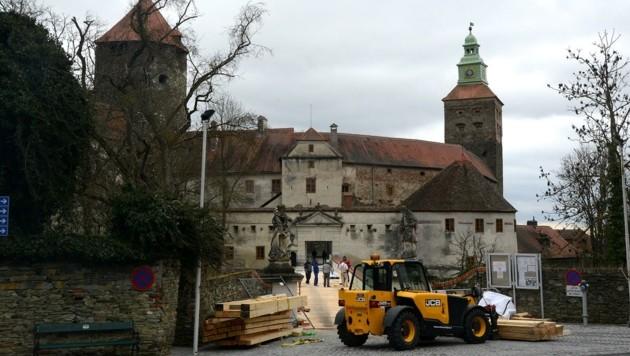 Nach der Burg Schlaining wird nun das Burghotel saniert. (Bild: Weber Franz)