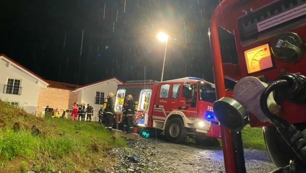 In das Dach eines Hauses in Olbendorf schlug ein Blitz ein.