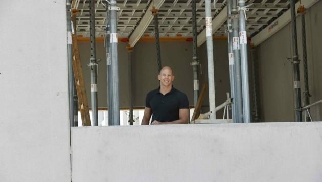 Daniel Dirnberger leitet das Mega-Vorhaben. (Bild: Tschepp Markus)