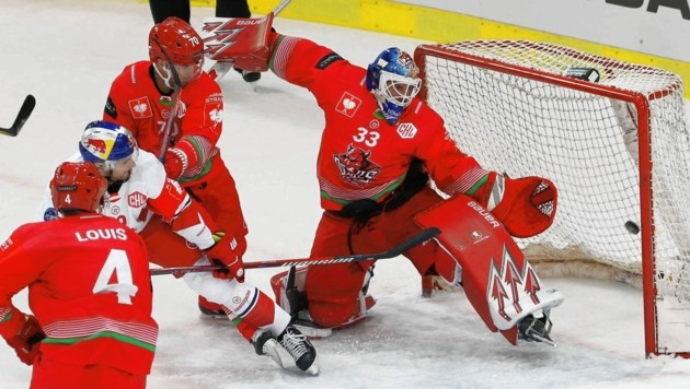Neo-99ers-Goalie Ben Bowns überzeugte die Klubverantwortlichen der Grazer auch durch seine tollen Leistungen mit Cardiff in der Champions Hockey League.