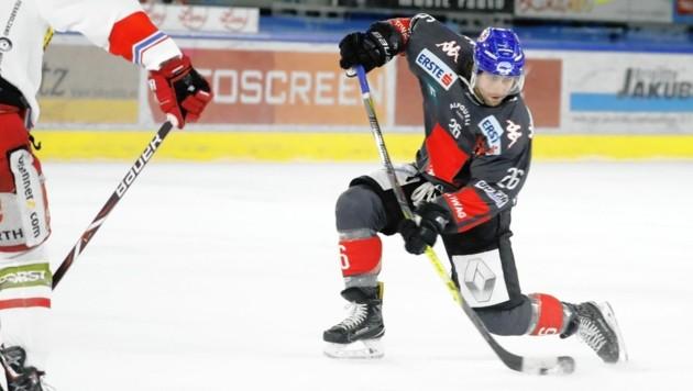 Mit Joel Broda, der zuletzt in Innsbruck gespielt hat, haben die Graz99ers einen echten Torjäger verpflichtet.