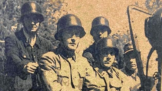 Mit zwei Offizieren und 30 Mann wurde die Berufsfeuerwehr 1945 aufgestellt.
