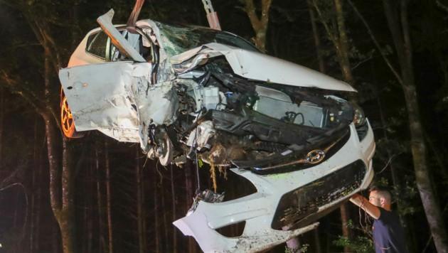 Der Unfall passierte in Burgkirchen. (Bild: Pressefoto Scharinger © Daniel Scharinger)