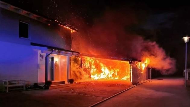 Die Feuerwehr konnte einen Wohnhausbrand verhindern. (Bild: Feuerwehr Neuzeug-Sierninghofen)