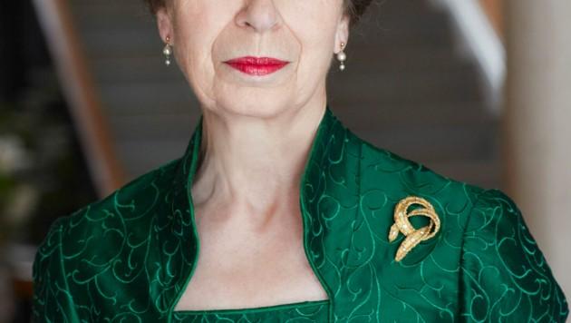 Zum 70. Geburtstag von Prinzessin Anne veröffentlichte der Palast drei Fotos.