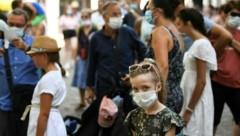 """Der Generalsekretär der UNO: """"Wenn der Klimakrise genauso uneins und ungeordnet begegnet wird wie der Viruskrise, dann fürchte ich das Schlimmste."""" (Bild: AFP)"""