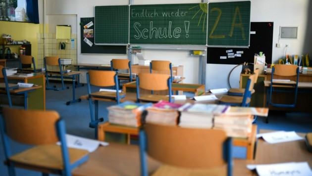 Für Schulen und Kindergärten gilt bereits die Corona-Ampel. (Bild: AFP)